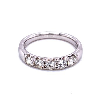 5 Stone Diamond Band