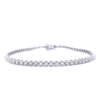 8 inch Diamond Tennis Bracelet