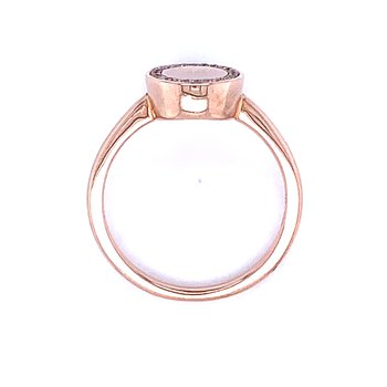 Blush & Sparkle Signet Ring