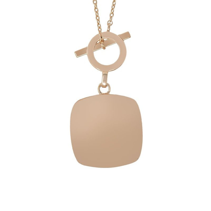 With You Amelia Toggle Locket in rose