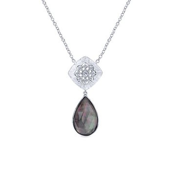 Mother of Black Pearl Pendant