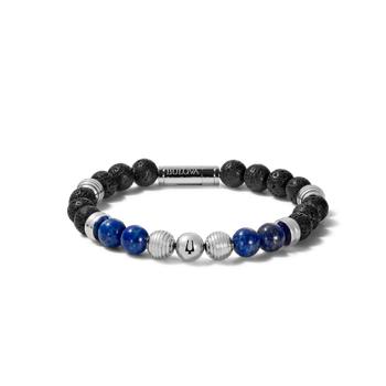 Lapis & Lava Men's Bulova Bracelet