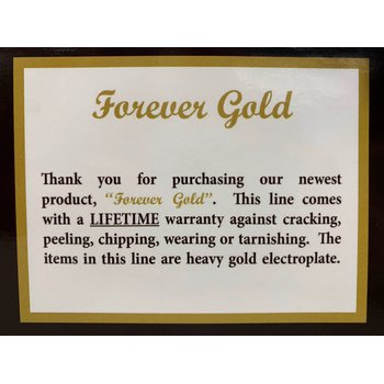 Forever Gold 2.2mm 9inch Rope Chain
