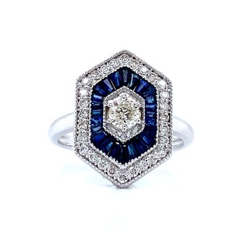 Sweet Love for Sapphires Ring