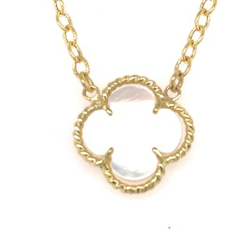 MOP Clover Necklace