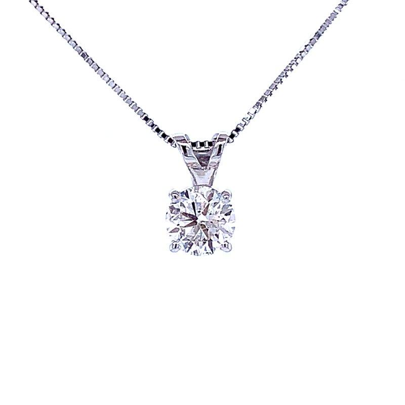 Bryan Beauties Solitaire Diamond Pendant 1/2ct