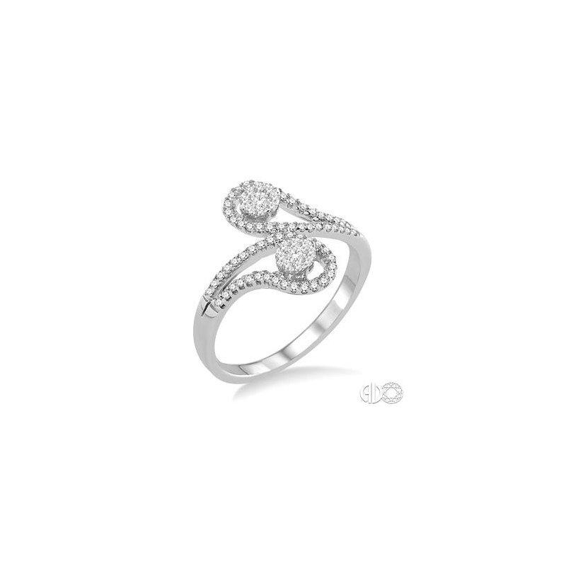 Bryan Beauties Paisley Swirls Lovebright Diamond Ring
