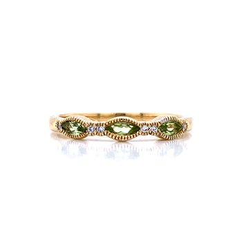 Peridot Stackable Band