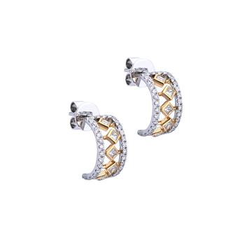 Carousel of Diamonds - Earrings