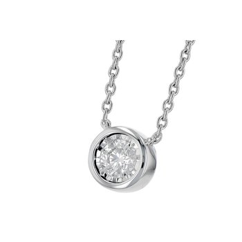 Go with Me Diamond Necklace -.25-14kw