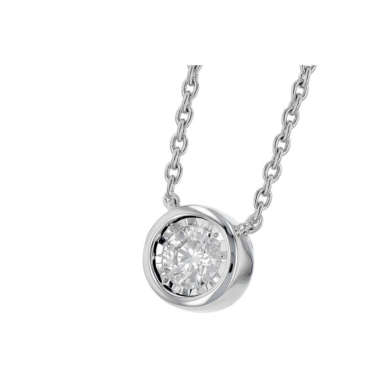 Allison-Kaufman Go with Me Diamond Necklace -.25-14kw