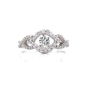 Shimmering Diamond Ring