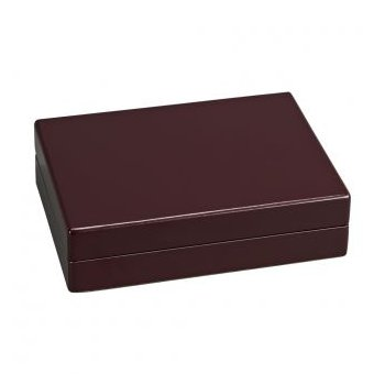 Rosewood Finished Box with Two Decks of Cards