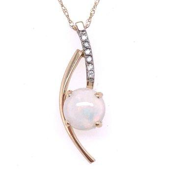 I will take my Opal with a Swirl of Diamonds