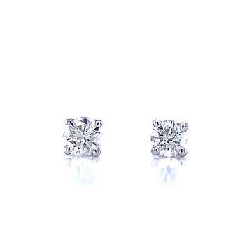 1/4ctw Diamond Studs-Screw backs