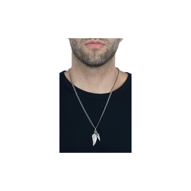 King Baby Double Winged Pendant