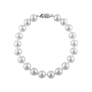 Freshwater Pearl bracelet with Silver Clasp