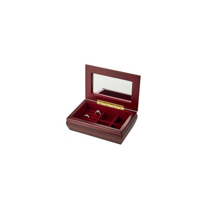 Bryan Beauties Rosewood Finished Jewelry Box