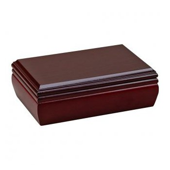 Rosewood Finished Jewelry Box
