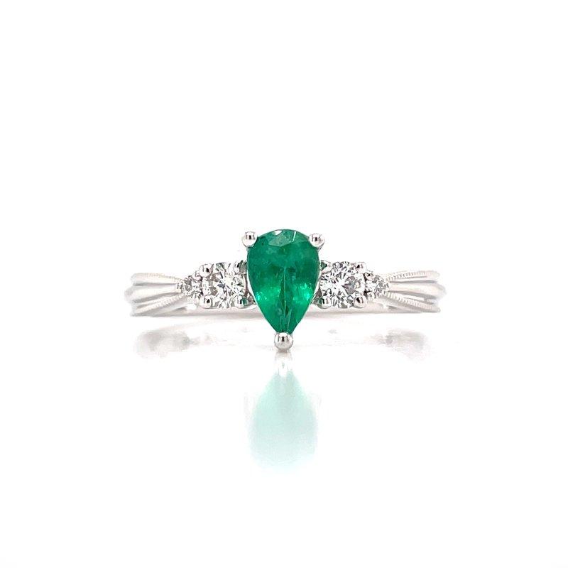 Bryan Beauties Portia in Emerald-14kw