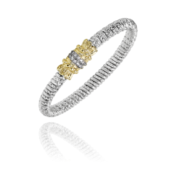 6mm Vahan with .18tctw of diamonds