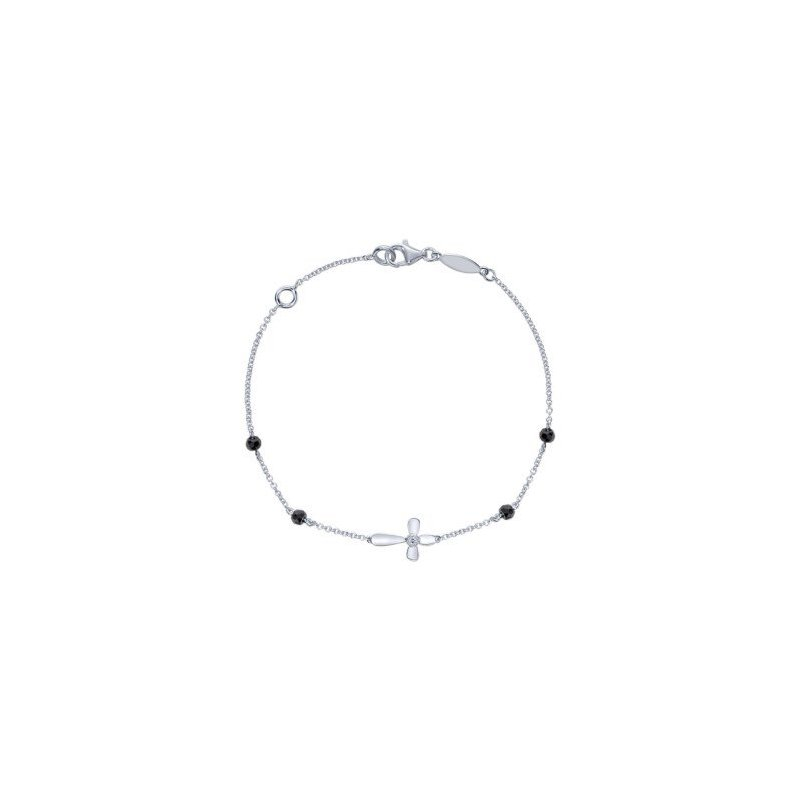 Bryan Beauties Sideways Cross Bracelet