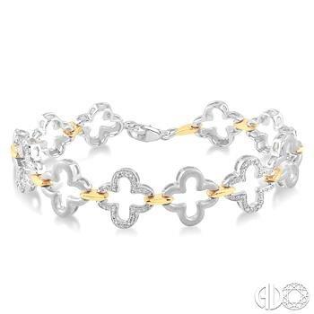 Blooming Crosses Bracelet