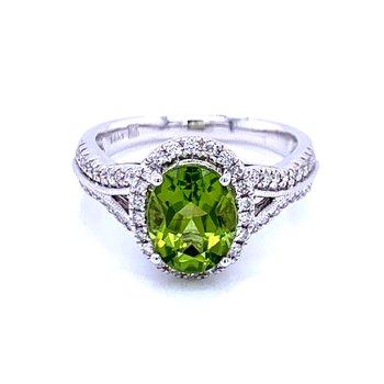 Lavish & Refreshing Peridot Ring