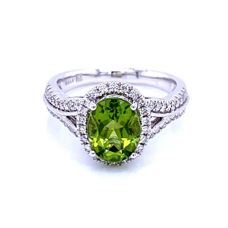 Bryan Beauties Lavish & Refreshing Peridot Ring