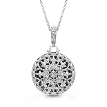 Beatrice Locket Necklace