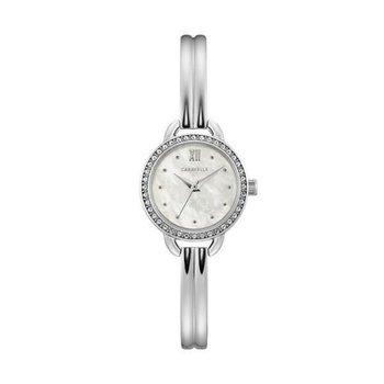 Caravelle Dress Style Bangle Wrist Watch