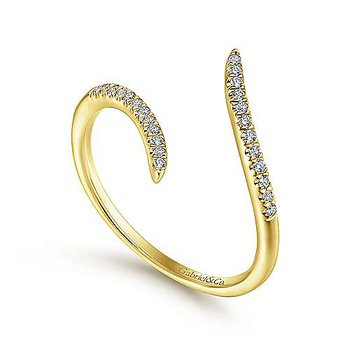 Gabriel NY Fashion Ring 51052 14k Yellow