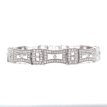 Vintage Reproduction Diamond Bracelet