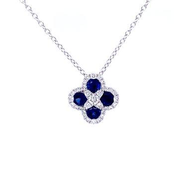 Scrumptious Sapphire Pendant