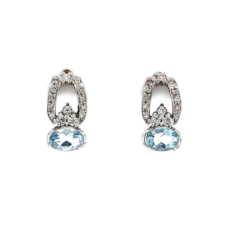 Bryan Beauties Aquamarine Elegance Earrings