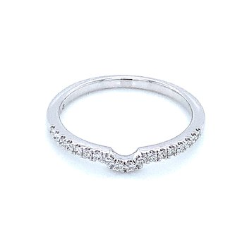 Just a Smidge of a Curve Diamond Band