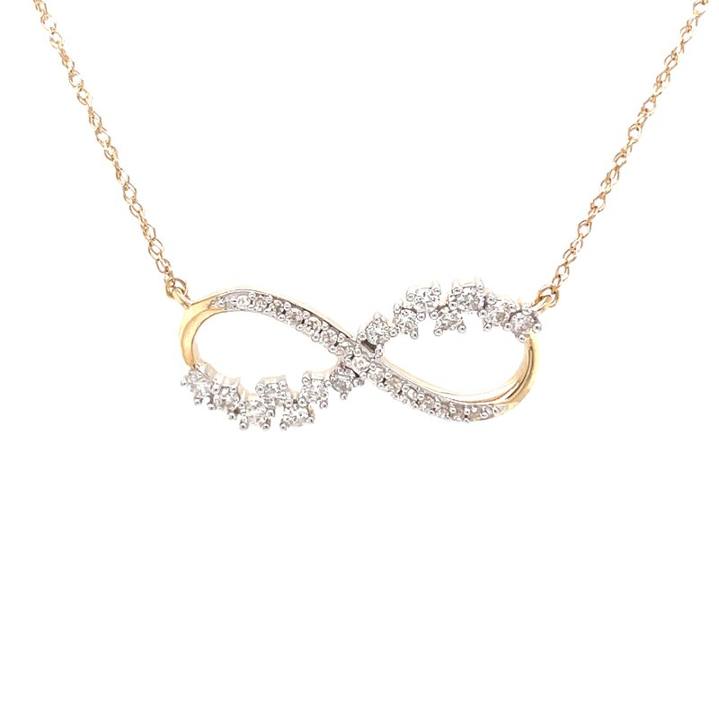 Bryan Beauties Diamond Infinity Necklace