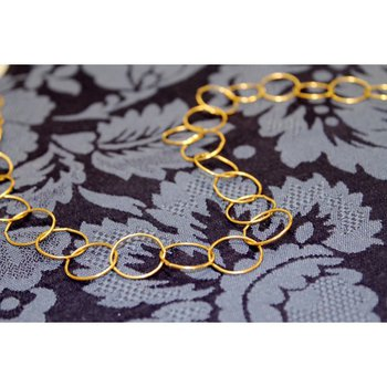 Textured Cable Chain - 36 inches