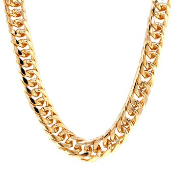 Forever Gold 10mm Cuban Chain