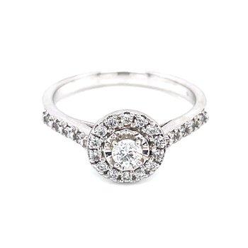 Aria Halo Diamond Ring
