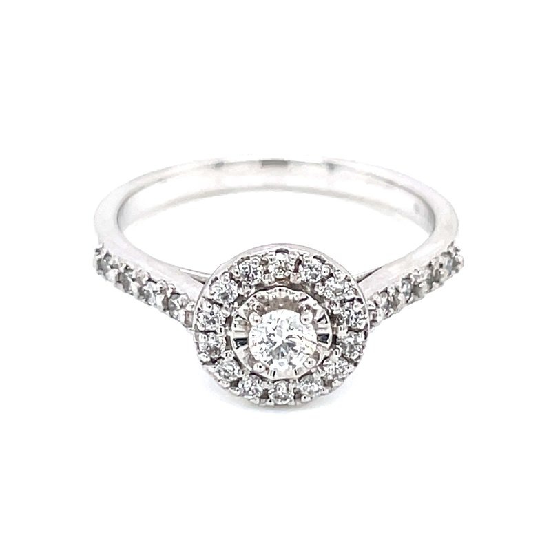 Bryan Beauties Aria Halo Diamond Ring