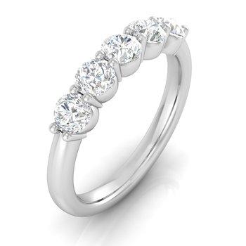 1ctw-5 Diamond Lab Grown Diamond Band