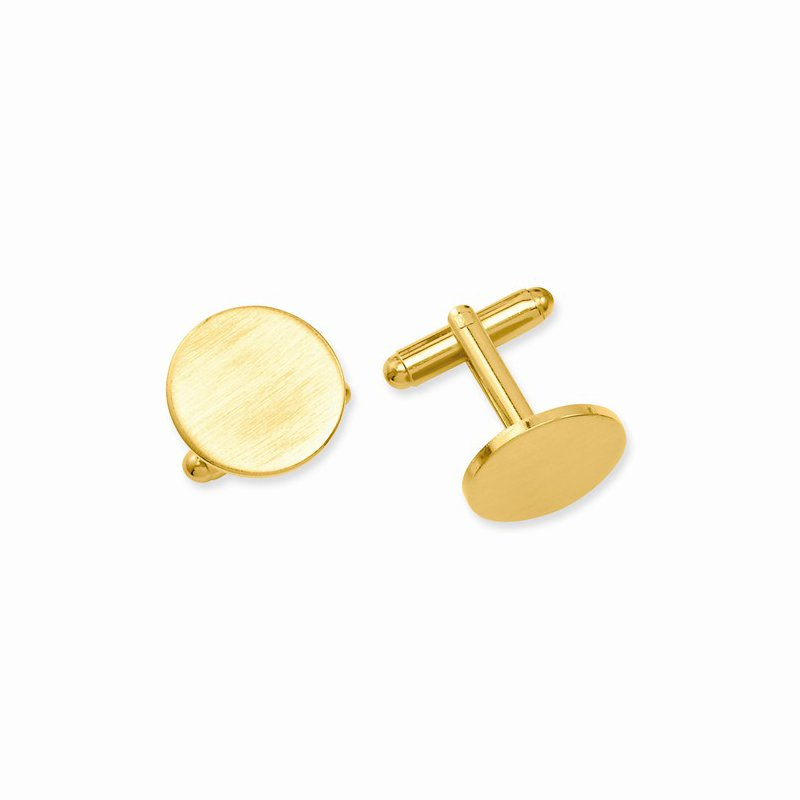 Bryan Beauties Gold Plated Cuff Links