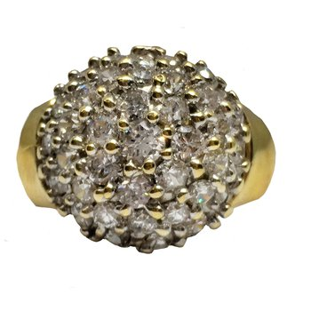 Domed Pave' Cluster