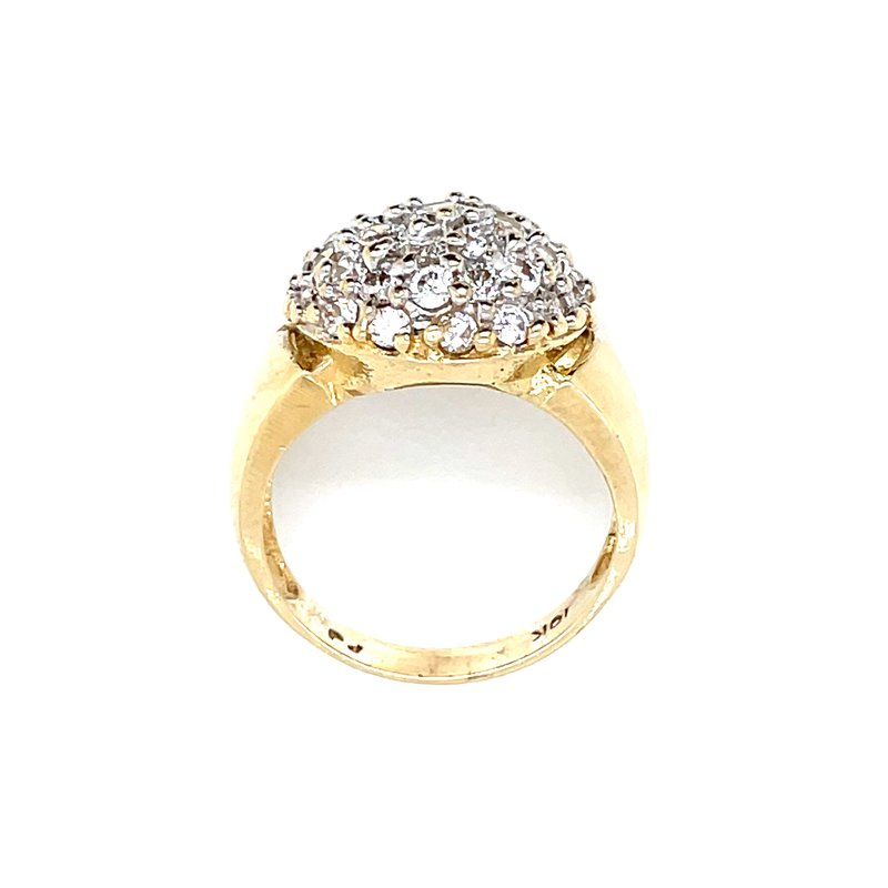 Previously Loved Domed Pave' Cluster