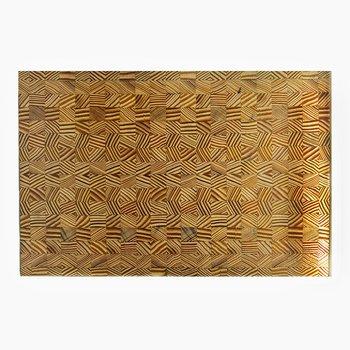 In Grain Block Yellow Pine Wood Serving Board
