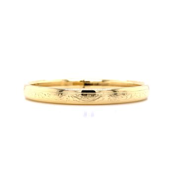 Child's Bangle Bracelet-Yellow Plate
