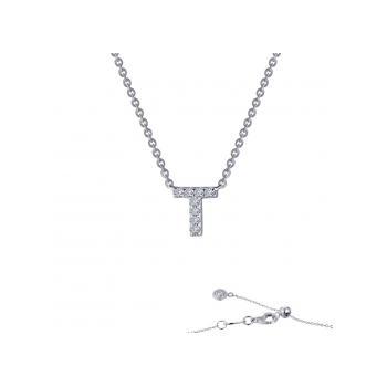 """""""T"""" Initial Necklace"""