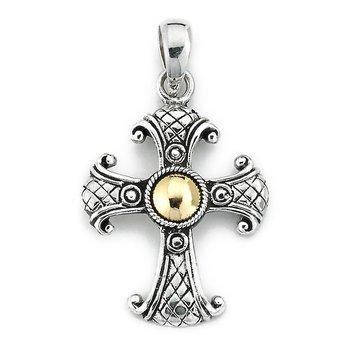 Bali Cross Pendant