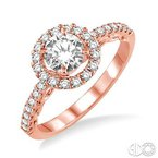 Bryan Beauties Romance in Rose Diamond Engagement Ring